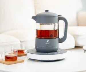 qi aerista smart tea maker on kickstarter