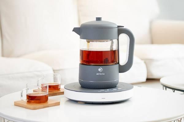 qi aerista smart tea maker on kickstarter