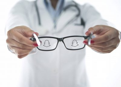 snapchat glasses used to film surgery