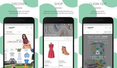 thredUP mobile app screenshots