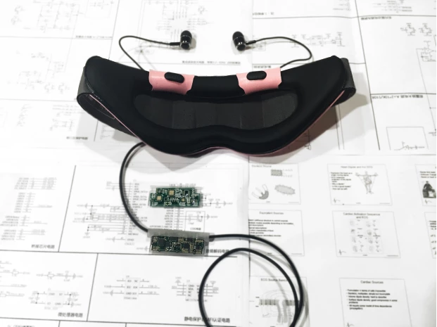 A Smart Eyeshade That Helps You Control Your Naps | SnapMunk
