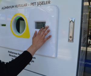 A Reverse Vending Machine That Rewards Recycling