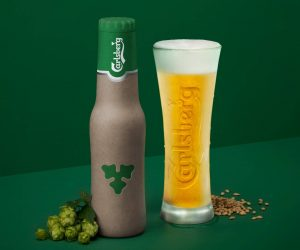 With the Green Fiber Bottle the Carlsberg Green Bottle Is Getting Even Greener