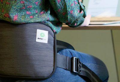 back brace feature