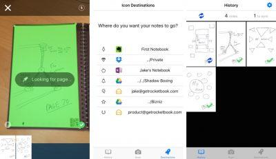 Rocketbook everlast notebook app