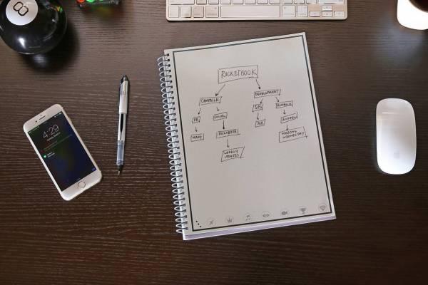 rocketbook everlast notebook kickstarter