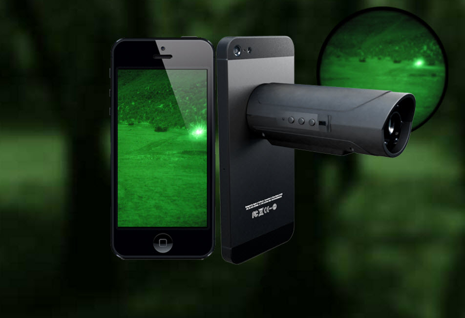 Wanna Turn Your Smartphone Into Night Vision Goggles Sure