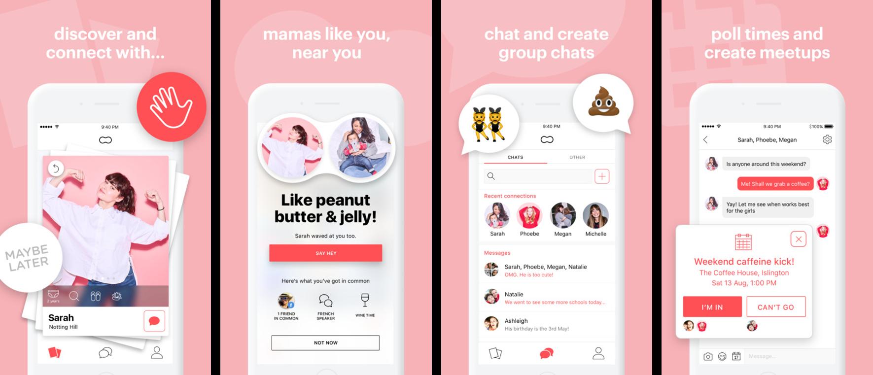 peanut tinder for moms app