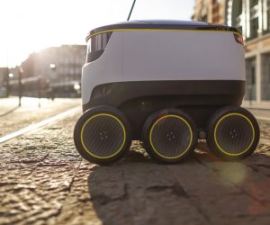 Starship Technologies' Self-Driving Robot Delivers Your Beer…No, We're Not Joking