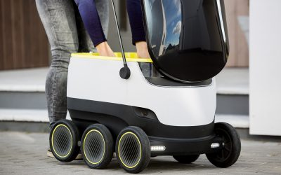 Starship Technologies' Self-Driving Robot Delivers Your Beer...No, We're Not Joking