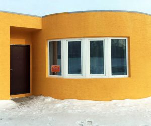 Easier than Legos; The First On-Site 3D Printed House Took Just 24 Hours