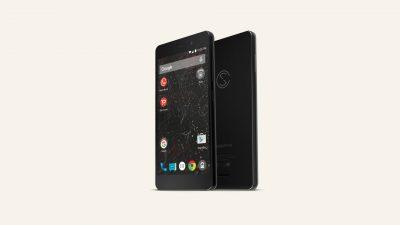 SilentCircle Blackphone Angle FrontBack reverse