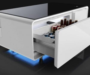 The Sobro, A Coffee Table That Is Part Fridge, Part Smart Device