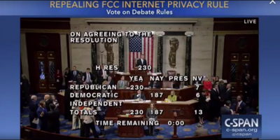 "Congress Finally Has People Awake to Privacy ""Rights"" On the Internet"