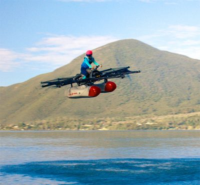 Kitty Hawk Releases First Video Of Ultralight Personal Flying Vehicle