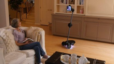 The Home Robot Of The Future Is Here To Communicate With Your Family