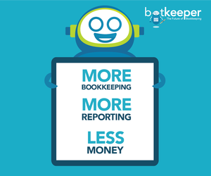 botkeeper accounting software offers more bookkeeping, more reporting, and less money