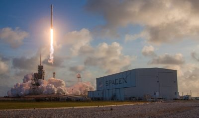 SpaceX's Falcon 9 Successfully Launches It's first Classified Satellite
