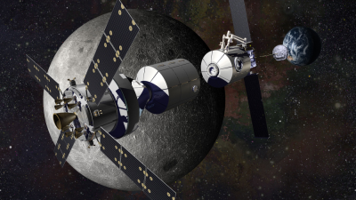 NASA's Plans For Mars Include Year Long Stay At Moon Base