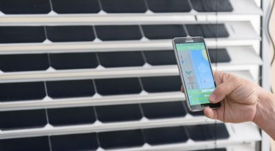 New Smart Solar Blinds Generate Solar Power For Your Devices or Your Home