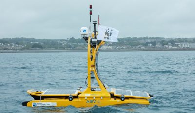The WWF Robot Reveals And Helps Us Understand The Secrets Of Our Changing Seas