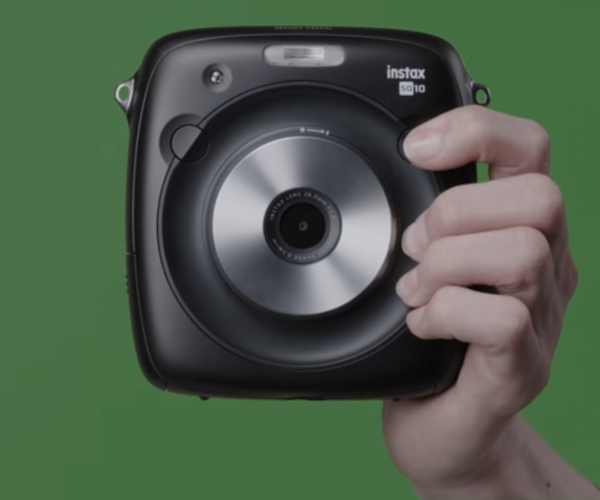 New Instant Camera Is Also A Hybrid Digital Camera