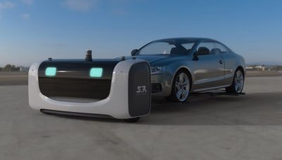 An Autonomous Robot Valet Can Now Park Your Car And It Doesn't Need The Keys