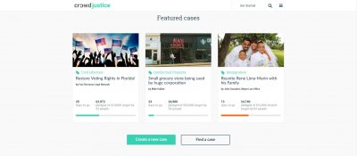 Crowdfunding Site That Fundraises Legal Proceedings Enters USA