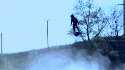 The Military May Soon Use Personal Hoverboards to Get Around