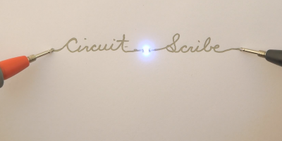 DIY Electronic Kits Use Conductive Ink To Create Homemade Circuits On Paper