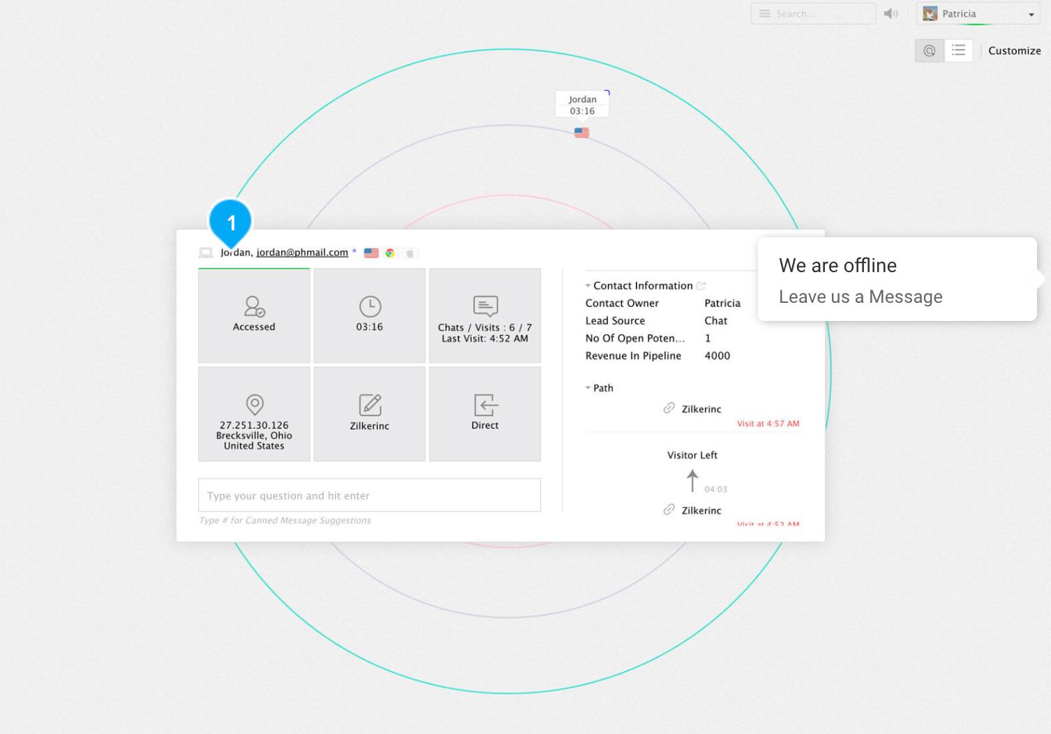 Live Chat Software - Zoho SalesIQ