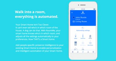 smart home smarthpone app roomme