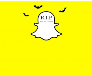 Snapchat May Be Dying. More Proof that Only the Good Die Young.