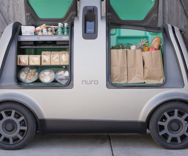 nuro self-driving delivery car